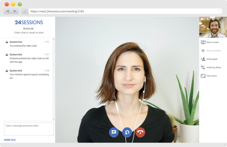 neutral-background-video-call
