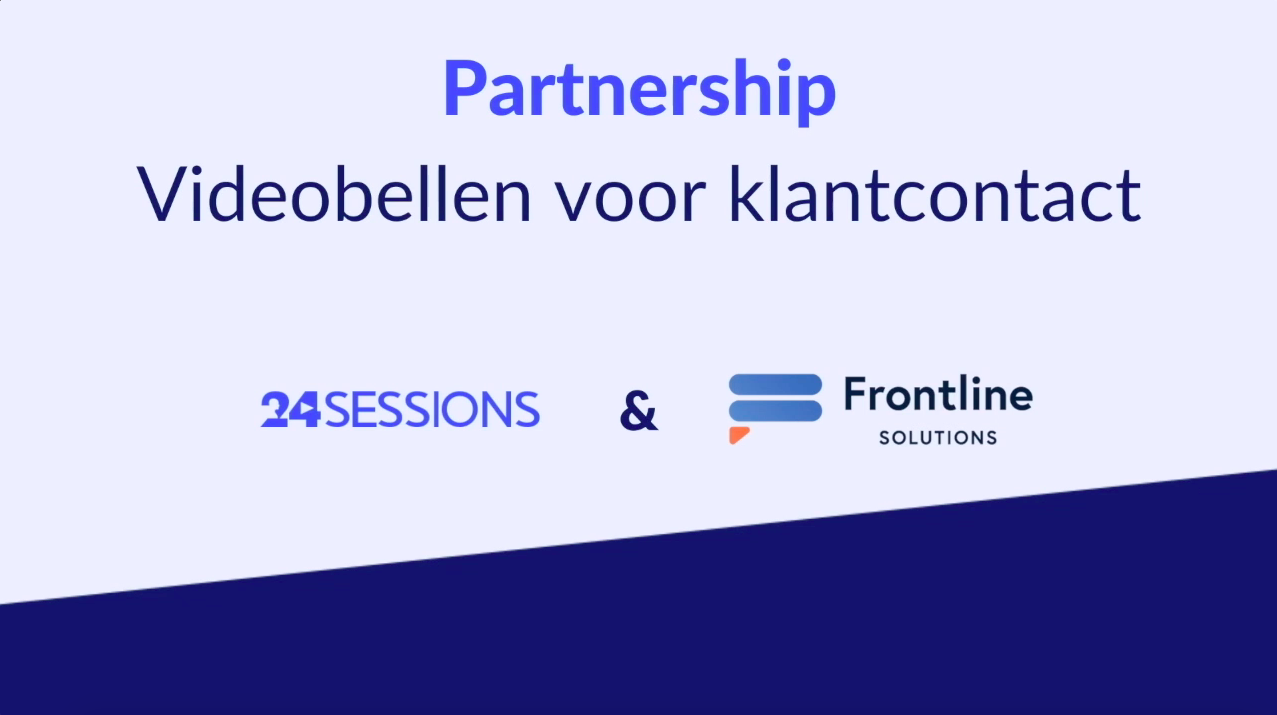 Frontline Solutions announces partnership with 24sessions