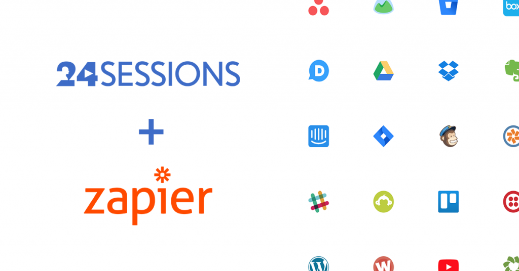 Connect 24sessions with Your Favorite Apps Using Zapier!