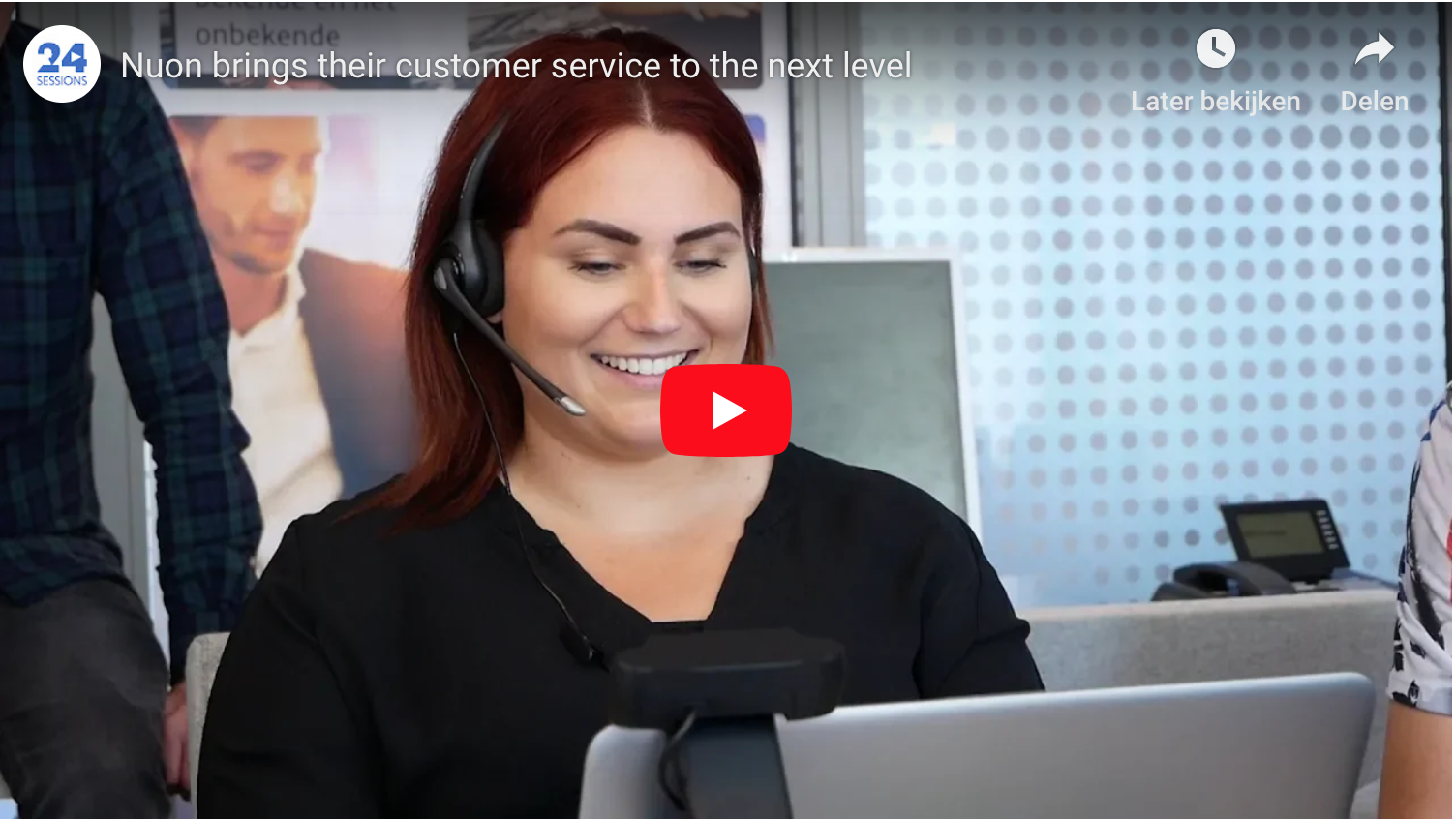 Nuon brings their customer service to the next level