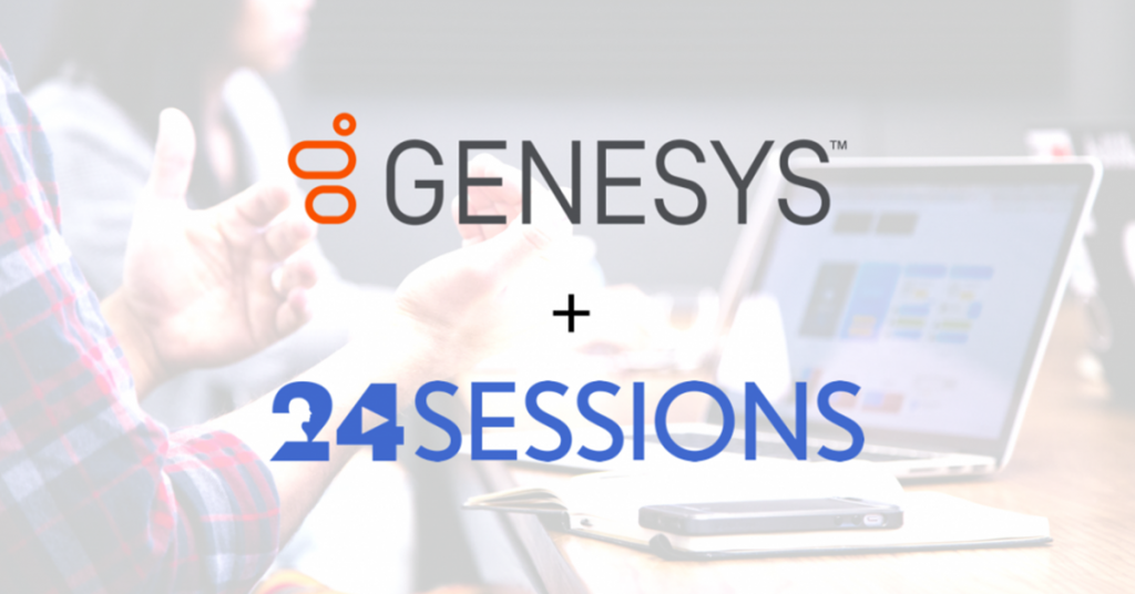24sessions is proudly partnering with Genesys